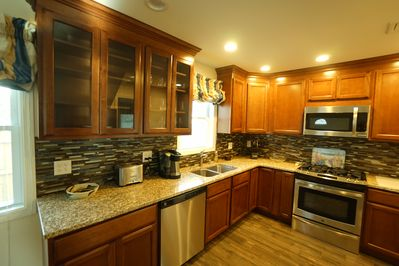 Brand new well equipped Kitchen