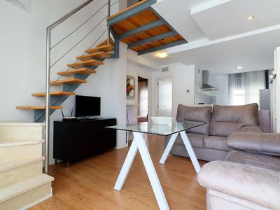Photo for Sanchez Duplex apartment in Córdoba with WiFi, integrated air conditioning & lift.