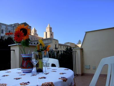 Photo for Studio Apartment in central location with unparalleled view of the Unesco Duomo