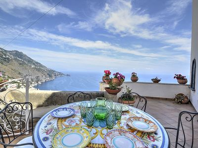 Photo for Villa Ridente: A charming two-story independent house which faces the sun and the sea, with Free WI-FI.