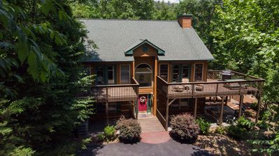 Photo for Rumbling Bald Resort - Sleeps 12, Game Room, Fire Pit