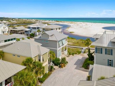 Photo for Down By The Sea - Gulf and Lake Views, Heated Community Pool, Grayton Beach!