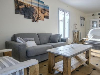 Photo for HOME CLOSE TO THE BEACH FOR 6 PEOPLE IN ST-MARTIN DE RE