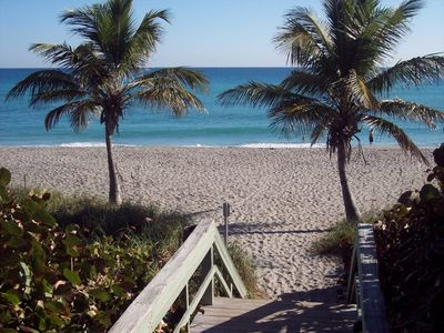Photo for WALK to beach, pools, tennis, dining, minutes to Inlet/golf