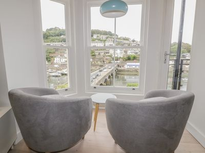 Photo for Harbour View Apartment, LOOE