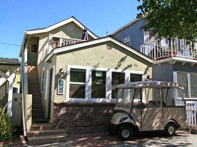 Photo for Cozy Upper Level of Duplex, Spacious Sun Deck, WIFI, Fireplace, BBQ