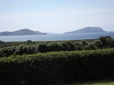 Photo for Wonderful family friendly home; stunning views of Ballinskelligs Bay and Reenroe