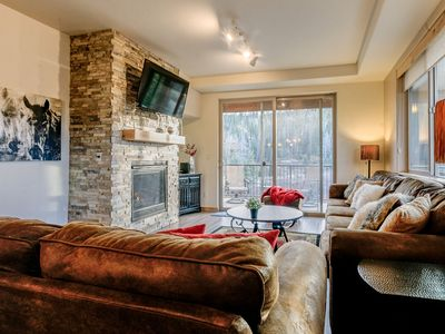 Photo for Chic Condo | Pool, Hot Tubs, Gym, Clubhouse & More! | Downtown