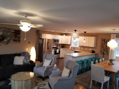 Wide open floor plan perfect for family gatherings