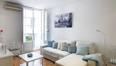 Photo for Comfortable apartment in Cortes / Barrio Letras Madrid