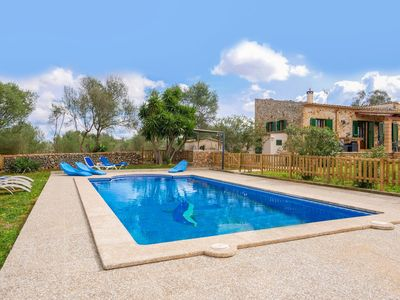 Photo for Attractive majorcan finca with private pool - in enchanting location