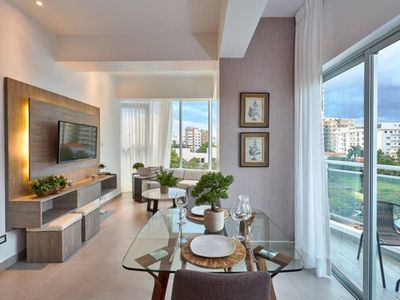Photo for Luxurious 1BR w/VIEW | Piantini near Blue Mall