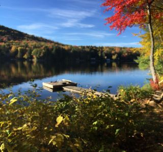 Photo for Heaven on Earth, Tranquil, Private 4 Bedroom Waterfront home on Goose Pond Lake