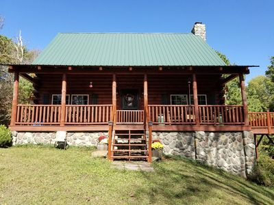 Photo for Whiskey Bend Cabin *sits on 14 acres* close to Old Man's Cave and Ash Cave