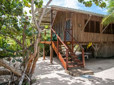 Photo for Barnacle Bill's Beach Bungalows - Green house - A Little Peice of Paradise