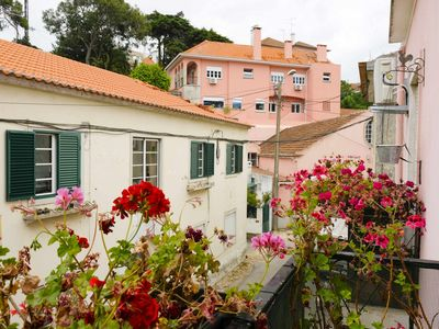 Photo for Idyllic apartment Sintra train station