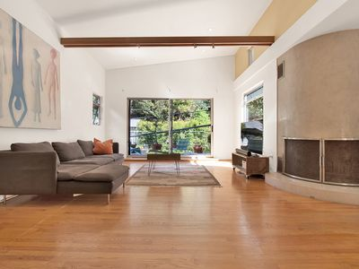 Photo for Architecturally Significant House in lush Laurel Canyon minutes from Holllywood