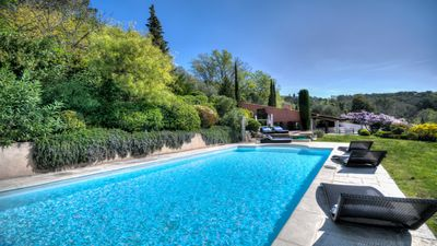 Photo for Spacious Family Villa in Medieval Mougins, South of France