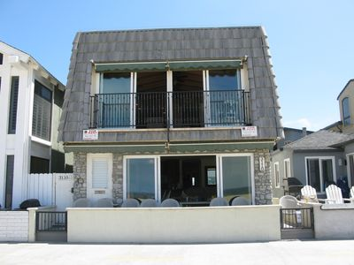 Photo for Newport Beach House- OCEANFRONT - 4 bedroom - upper unit - Best Location !!!