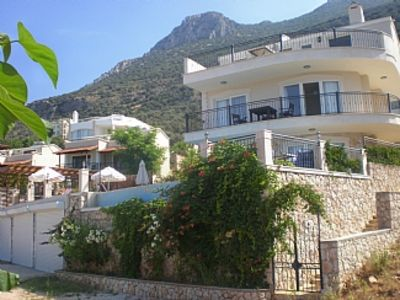 Photo for Luxury Detached Villa Private Infinity Pool, Panoramic Sea Views, Wifi, Air Con.