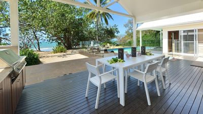 Absolute beachfront holiday home