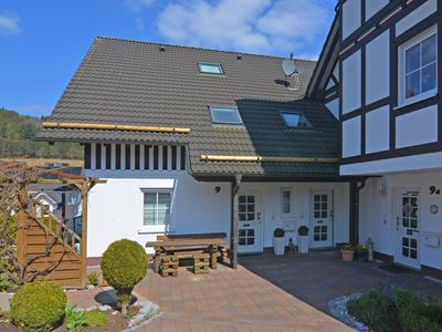 Photo for Apartment with large, partially covered loggia in Eslohe, in the Sauerland