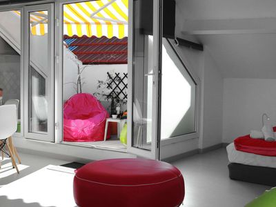 Happy stay in large studio with terrace