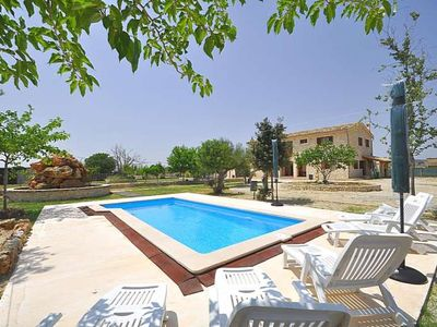 Photo for SON PUJOL- Majestic country house with private pool in Montuiri. Mallorca. Satellite TV -93866- - Free Wifi