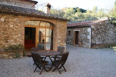 Photo for Holiday apartment Rapolano Terme for 4 persons with 2 bedrooms - Farmhouse