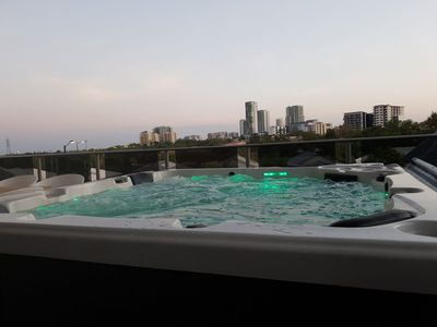 Photo for Luxury Darwin City Lights Jacuzzi Central Location Large House New Furnishings