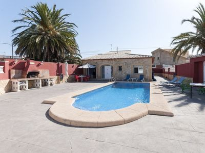 Photo for CEREZO - Chalet with shared pool in RAFALCAID.
