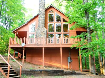 Photo for Deluxe 2 BR Cabin, Private, near Helen GA!