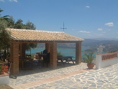 Photo for Buenavista 2 Apartment with Private Pool and Overlooking Lake Iznajar