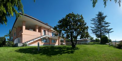 Photo for Apartment in Langhe area with  beautiful terraces , jacuzzi and garden