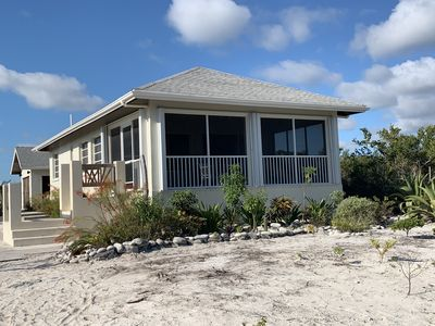 Photo for Bambarra Sands Cottage: Private Beachfront House on Bambarra Beach Middle Caicos