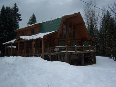 Photo for Great Log House Close to Glacier Park West Entrance