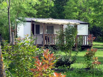 Photo for Camping Saint-Amand *** - Mobile home Comfort 3 Rooms 4 Persons