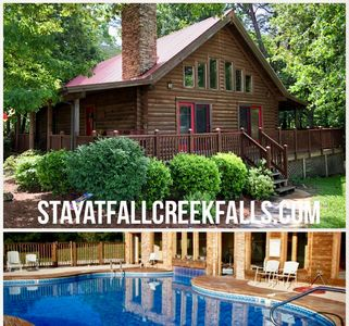 VACATION AT DEER CREEK CABIN-IT HAS IT ALL!  4B-2.5 W/HOTTUB-MINUTES TO FCF PARK