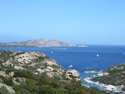 Photo for SEPTEMBER 5 DAYS !! Villino C. SMERALDA Baia Sardinia view of the Maddalen Archipelago