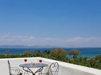 Photo for Seaside Luxury Villa with Terrace in Aegina Island | Villa Aneli