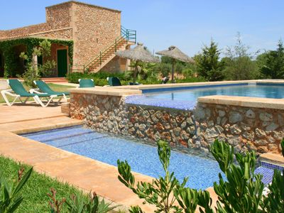 Photo for country holiday homes - 4 rooms - 8/10  people close to Es Trenc with internet conection