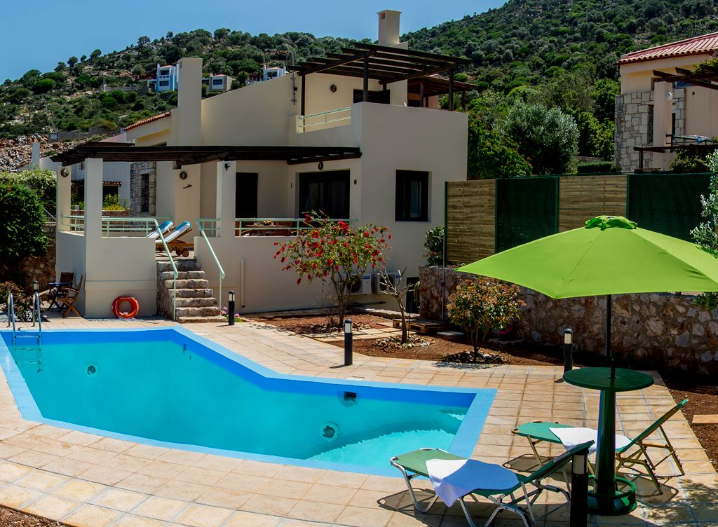 meimar : villa with pool, with amazing sea view, near the beach, Gartenarbeit ideen