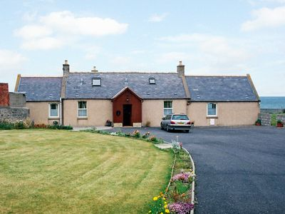 Photo for BRAEHEAD CROFT, pet friendly, with a garden in Portessie, Ref 1543