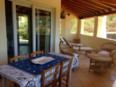 Photo for chalet typical Sardinian style with large garden