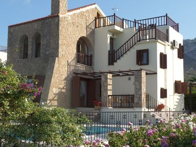 Photo for STUNNING VILLA WITH EXCEPTIONAL SEA & MOUNTAIN VIEWS. PRIVATE POOL & GARDENS