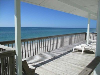 Photo for Relax And Enjoy Your Direct Oceanfront View. Walk Off Your Deck Into The Ocean
