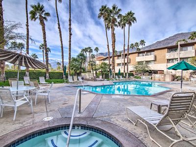 Photo for NEW! Chic Palm Springs Resort Condo w/ 2 Balconies