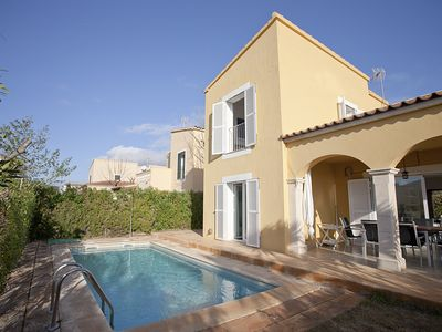 Photo for Bright, charming holiday home in Es Trenc near