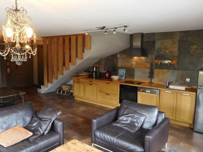 Photo for Upscale apartment in a chalet for 8 people (+ 1 baby) - La Toussuire centr