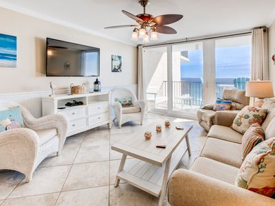 Photo for ☀BeachFront @ Pelican Walk 510 sleeps 6☀FAB View w/Balcony! May 20 to 22 $609!